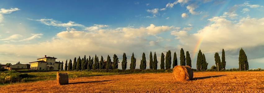 Toskana im Herbst