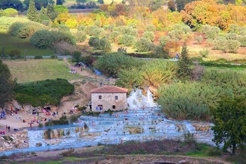 Thermalquellen Cascate del Mulino.