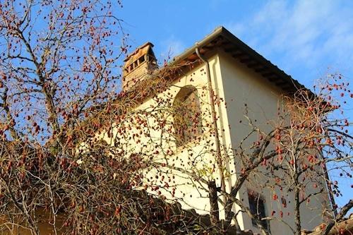 Turm der Villa Sesto Fiorentino.