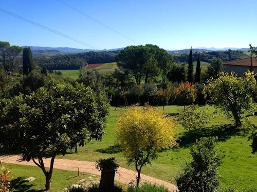 600 qm Spiellandschaft - Ferienhaus In Toscana.