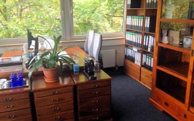 Das neue Büro in der Münchnerstr. 18 Unterföhring
