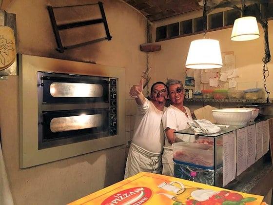 Halloween in Terricciola: Pizzeria Il Morso - Toskana