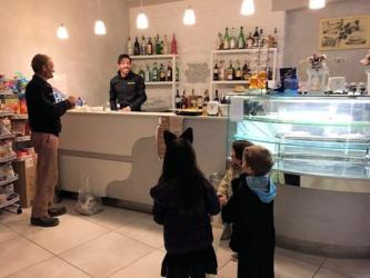 Halloween in Terricciola: Bar Caffé del Borgo - Toskana