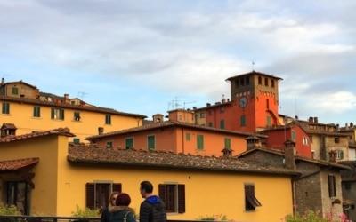 Loro Ciuffenna, Arezzo -Toskana
