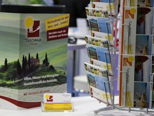 Mit 7 Reisepreisen nimmt Toscana-Forum an der ITB in Berlin teil