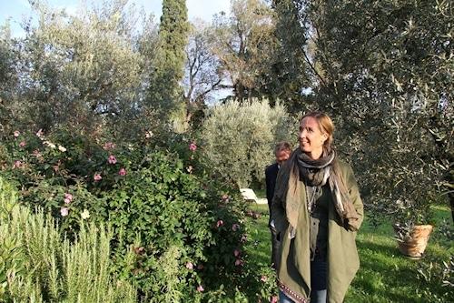 """"""" Villa Sesto Fiorentino: 5 ha landwirtschaftliche Fläche und Garten mitten im Wohngebiet"""" © www.toscana-forum.de"""