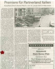 Teilnahme vom Toscana Forum am Reisemarkt Rhein-Neckar-Pfalz in Mannheim