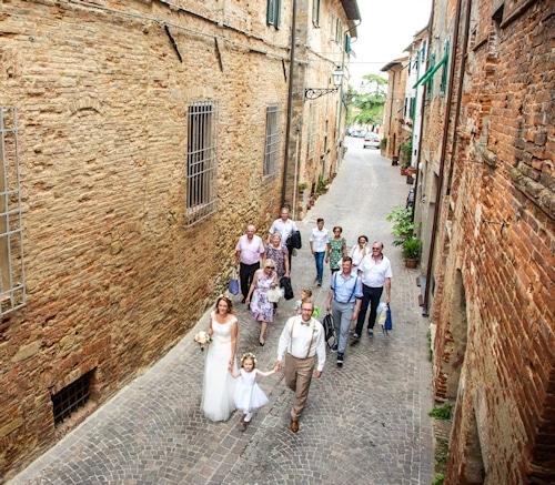 Durch die Gassen des mittelalterlichen Borgo
