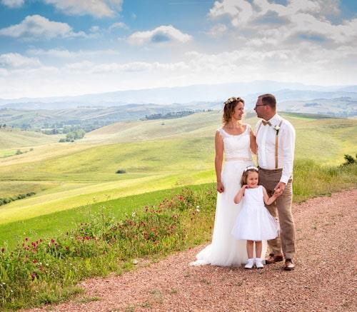 Hochzeitstag jedes Jahr in Terricciola feiern