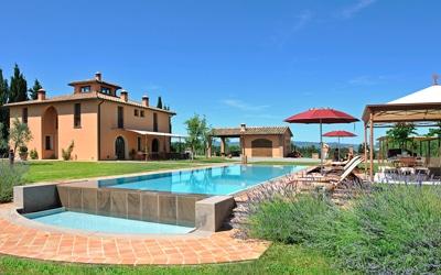 Luxusvilla Toskana Peccioli 5