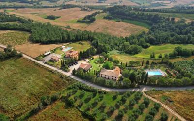 Agriturismo Peccioli 3 Luftaufnahme 03