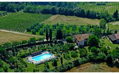 Agriturismo Peccioli 3 Luftaufnahme 04