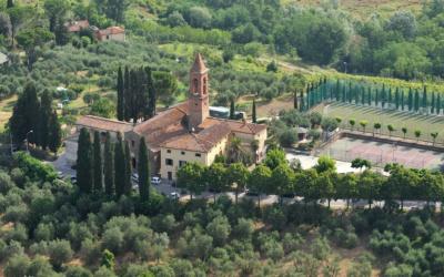 Agriturismo Peccioli 3 Luftaufnahme 05