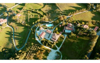 Bio Agriturismo Caprese 1 Luftaufnahme 02