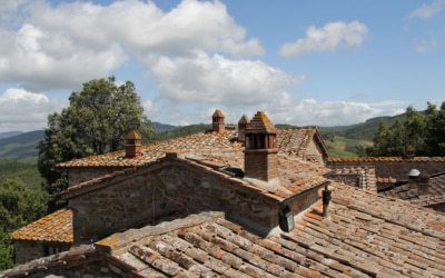 Burg Chianti 3 Außenansichten 11