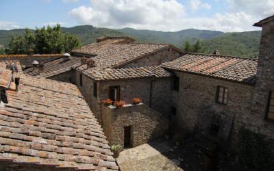 Burg Chianti 3 Außenansichten 13
