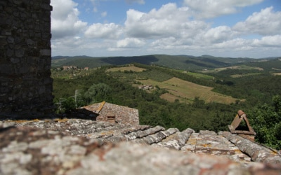 Burg Chianti 3 Außenansichten 14