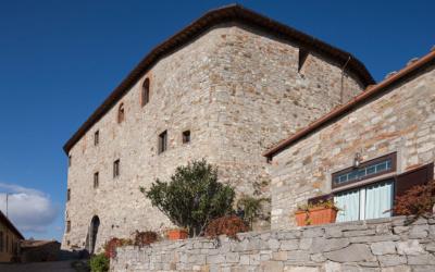 Burg Chianti 3 Außenansichten 25