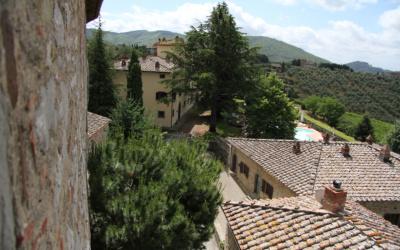 Burg Chianti 4 Außenansichten 08