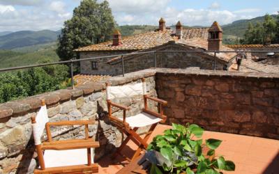 Burg Chianti 4 Außenansichten 11