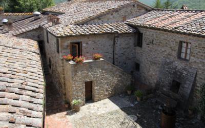 Burg Chianti 4 Außenansichten 12
