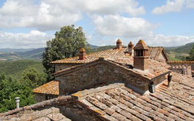 Burg Chianti 4 Außenansichten 14