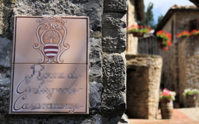 Burg Chianti 4 Außenansichten 16