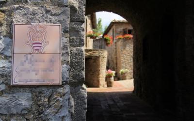 Burg Chianti 4 Außenansichten 17
