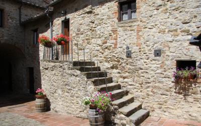 Burg Chianti 4 Außenansichten 18