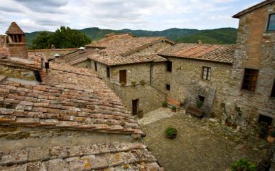 Burg Chianti 4 Außenansichten 21