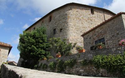Burg Chianti 4 Außenansichten 22