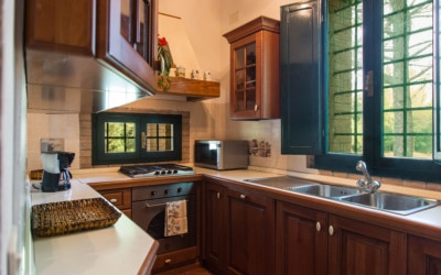 Cottage La Sassa 1 Küche 01