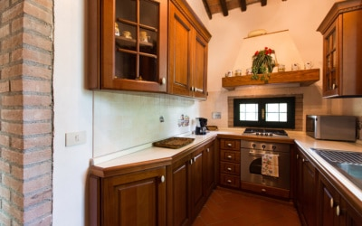 Cottage La Sassa 1 Küche 03