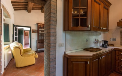 Cottage La Sassa 1 Küche 05