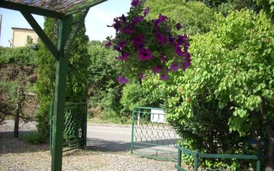 Ferienhaus Canneto 2 Einfahrt