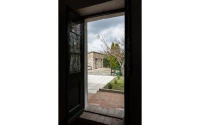 Ferienhaus Canneto 2 Eingangstür 03