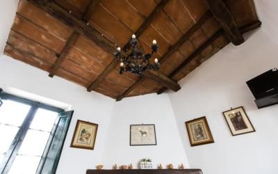 Ferienhaus Canneto 2 Holzdecke