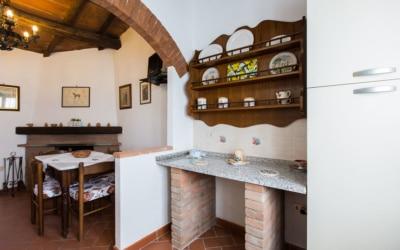Ferienhaus Canneto 2 Küchenecke 01