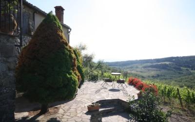 Ferienhaus Chianti 2 Außenansichten 05