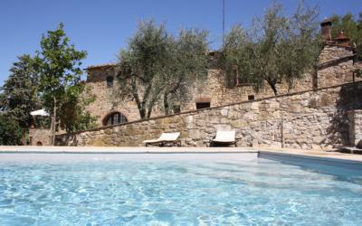 Ferienhaus Chianti 2 Pool 09