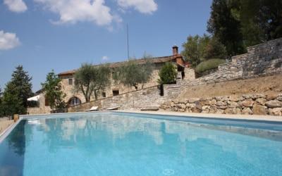 Ferienhaus Chianti 2 Pool 11