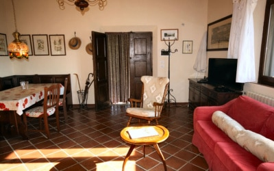 Ferienhaus Chianti 2 Wohnraum 04