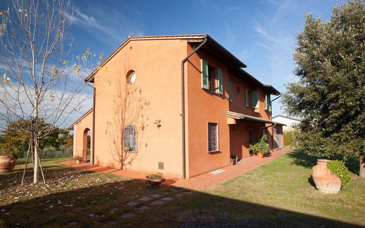 Ferienhaus Peccioli 1 Außenansichten 01
