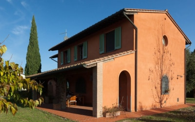 Ferienhaus Peccioli 1 Außenansichten 07