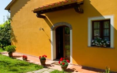 Ferienhaus Toskana 2 Eingang Melo 01