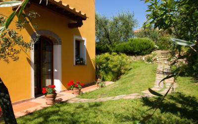 Ferienhaus Toskana 2 Eingang Melo 02