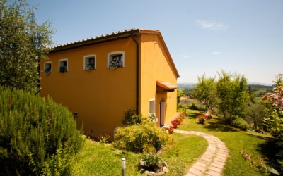 Ferienhaus Toskana 2 Eingang Pero 01
