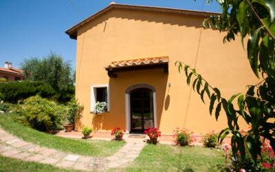 Ferienhaus Toskana 2 Eingang Pero 02