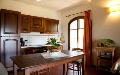 Ferienhaus Toskana 2 Wohnung Melo Küchenzeile 02