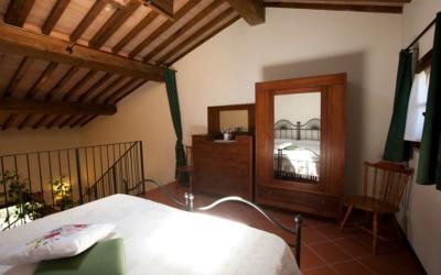 Ferienhaus Toskana 2 Wohnung Melo Schlafgalerie 07
